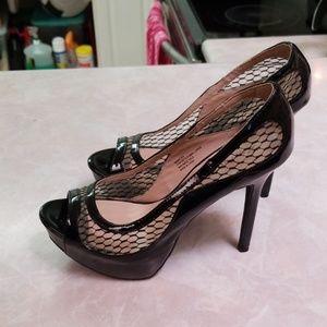 Open toes heels